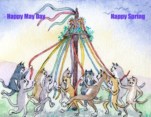 Happy May Day                                                           Happy Spring