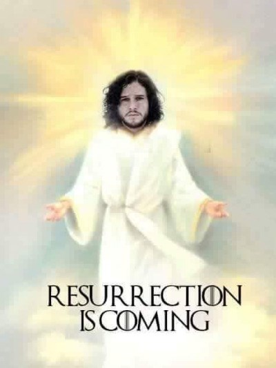 resurrection is coming