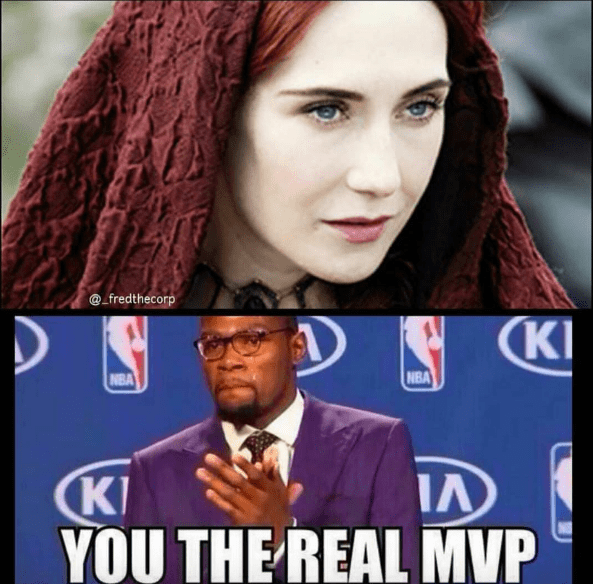 we cant thank you enough melisandre