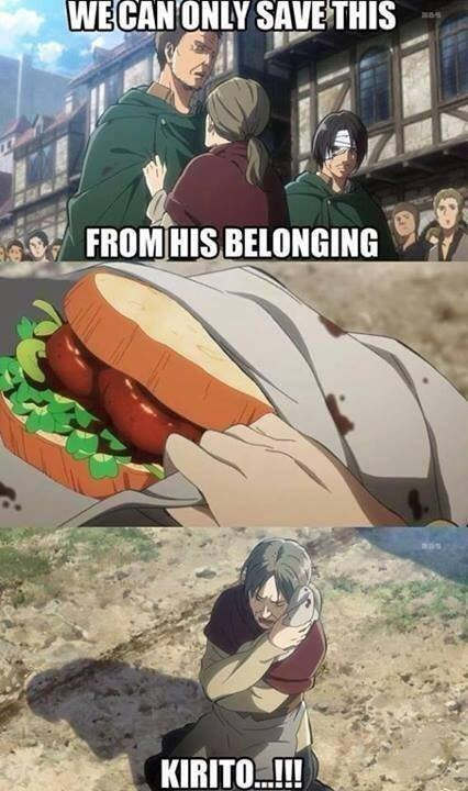 anime-kirito-attack-on-titan-food-save-funny