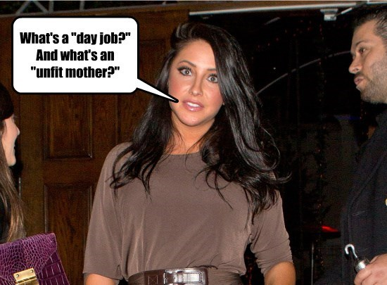 You can hear the breeze whistling through Bristol Palin's head