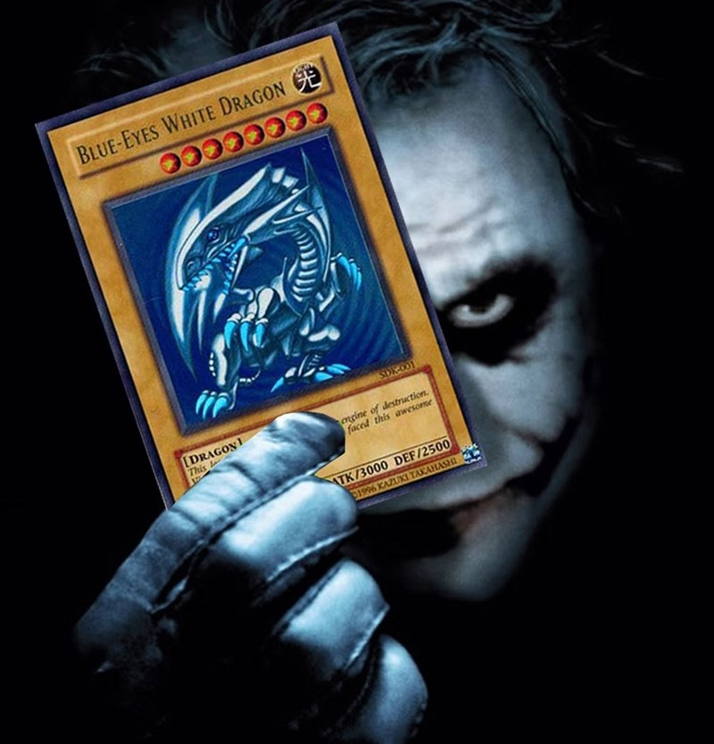 geek joker yugioh cards - 8793859584