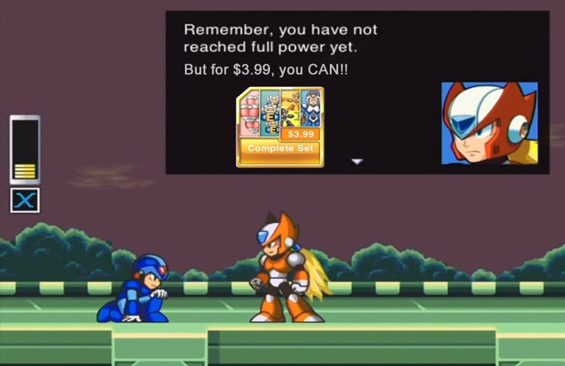 megaman,pay to win,video games