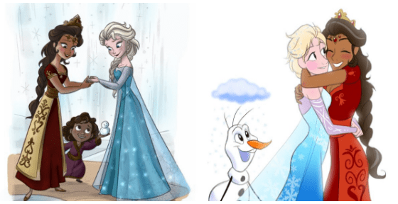 lgbtq disney frozen 'Frozen' Fans Are Asking Disney to Give Elsa a Girlfriend, Because She Shouldn't Have to Rule Arendelle Alone
