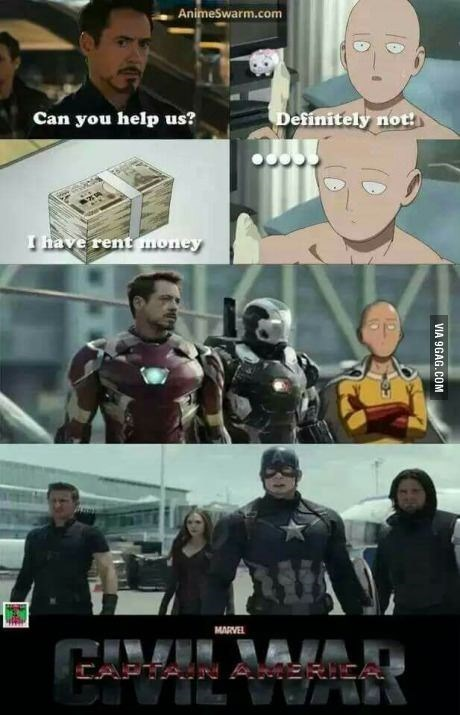 team-captain-america-iron-man-one-punch-anime-funny