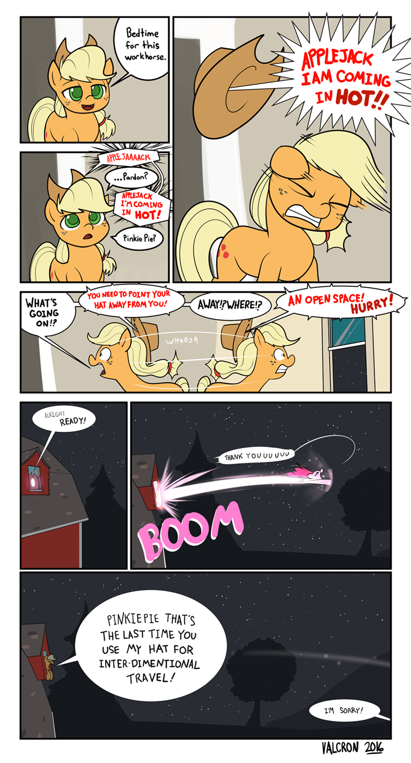 applejack pinkie pie comic - 8794072320