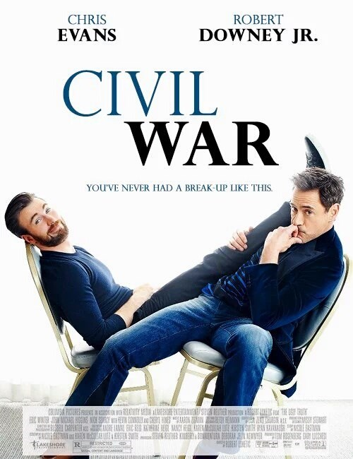 robert-downey-jr-iron-man-chris-evans-captain-america-rom-com-funny
