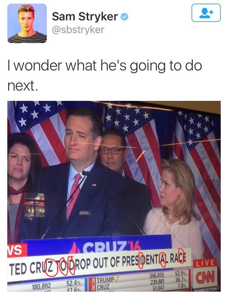 ted cruz zodiac memes Hot Takes on Ted Cruz Dropping out of the Race
