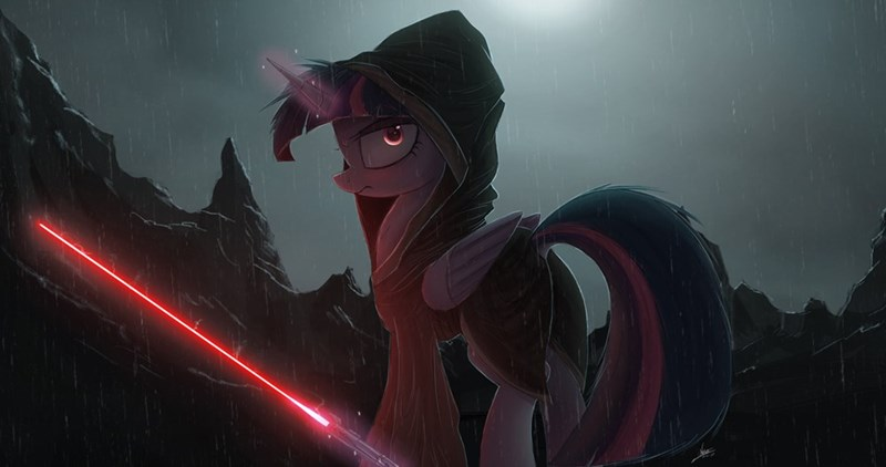 star wars may the fourth twilight sparkle sith - 8794334976