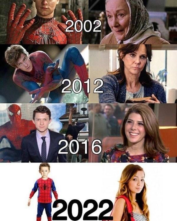 marvel-superheroes-evolution-of-spider-man-funny