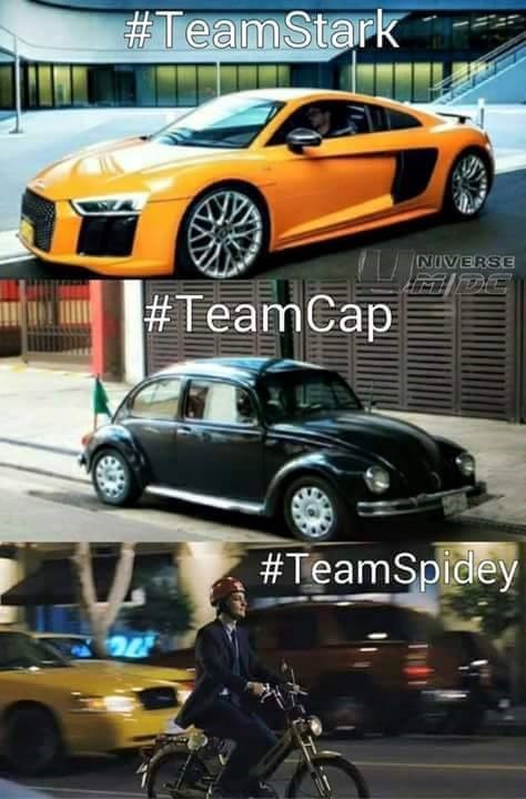 team spidey