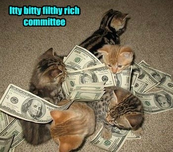 Itty bitty filthy rich committee
