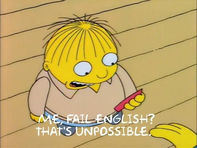 school,FAIL,grades,simpsons
