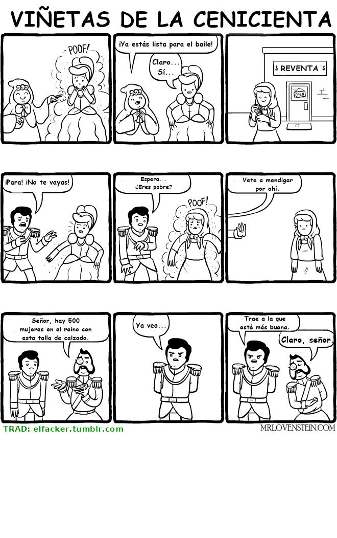 cenicienta real