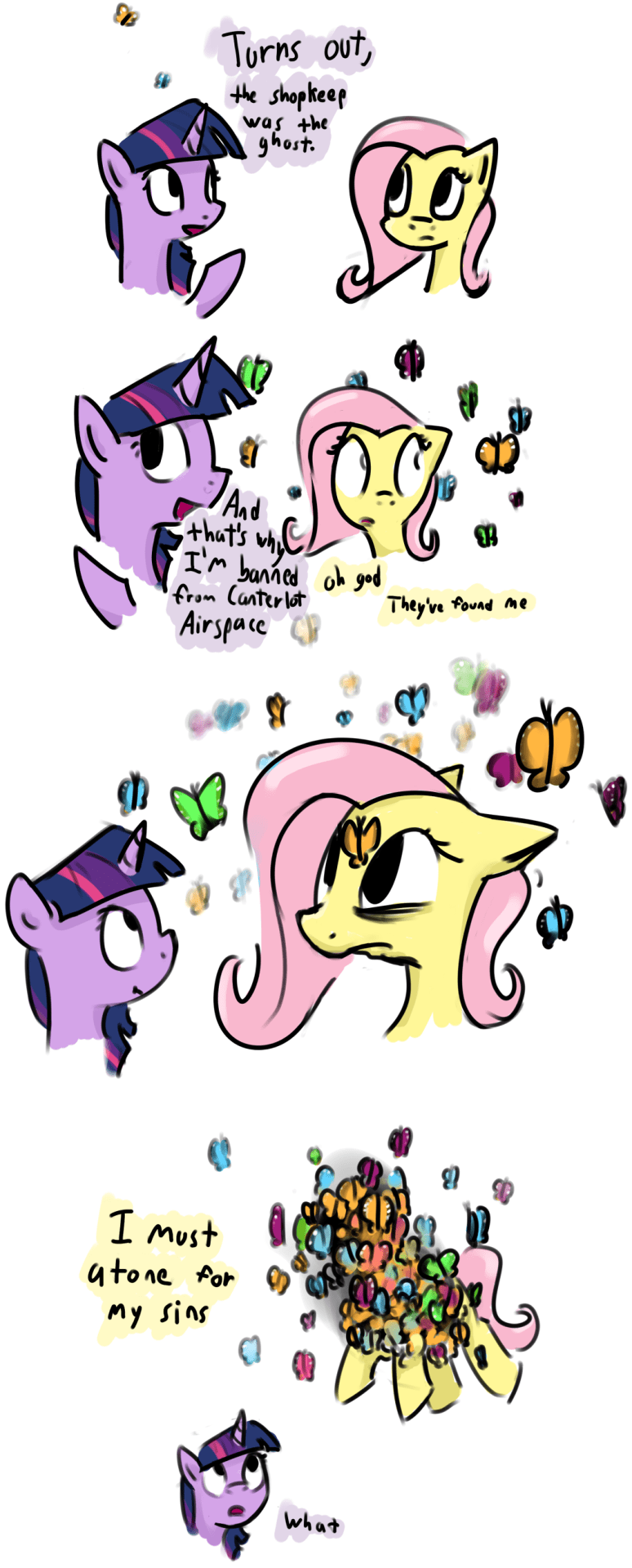 twilight sparkle comic fluttershy - 8794612224
