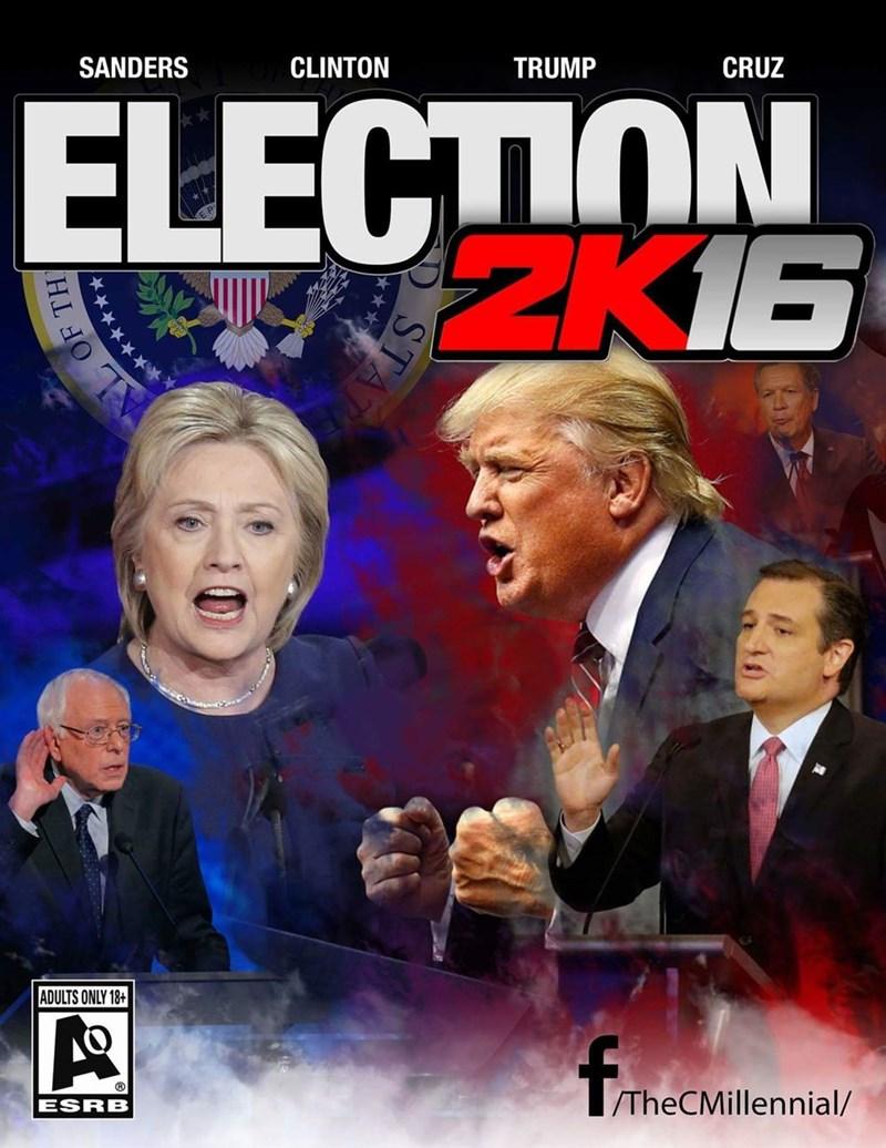 donald trump bernie sanders Hillary Clinton Democrat republican - 8794781952