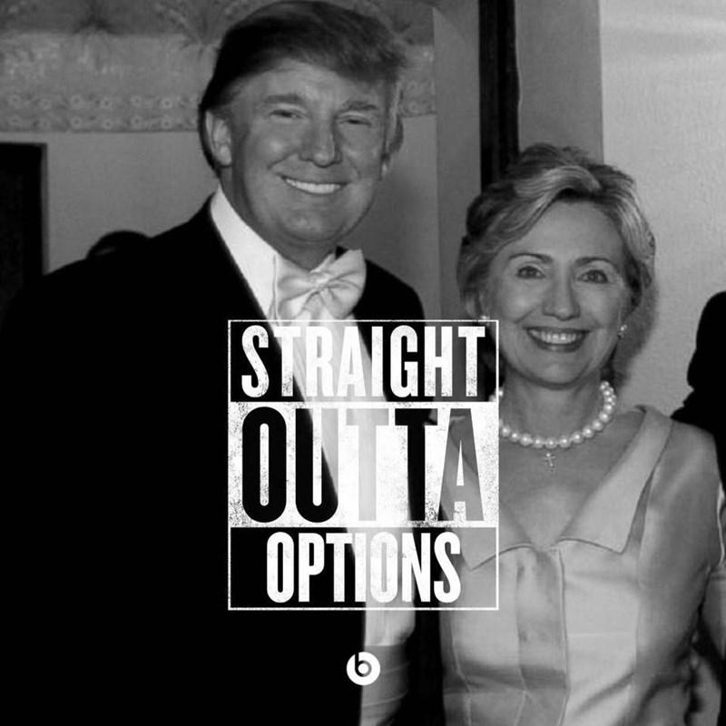 donald trump Hillary Clinton Memes Democrat republican - 8794789632