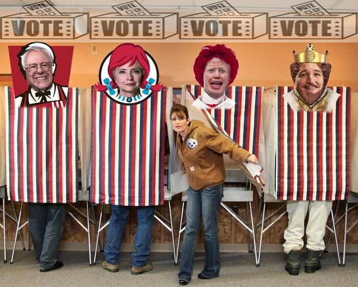 bernie sanders,Hillary Clinton,Democrat,Sarah Palin,republican