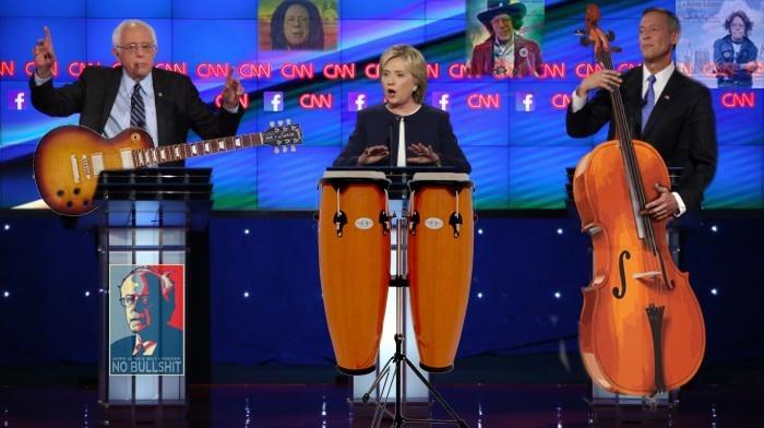bernie sanders Hillary Clinton Democrat - 8794925056