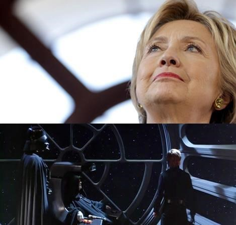 star wars Hillary Clinton Democrat - 8794926848