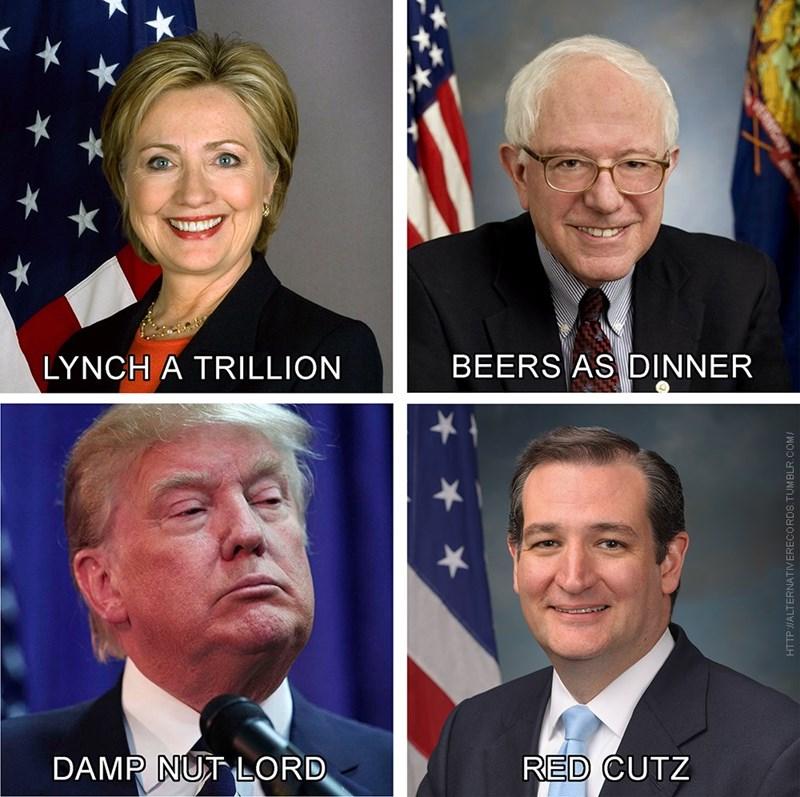 donald trump bernie sanders Hillary Clinton Democrat republican ted cruz - 8794950912