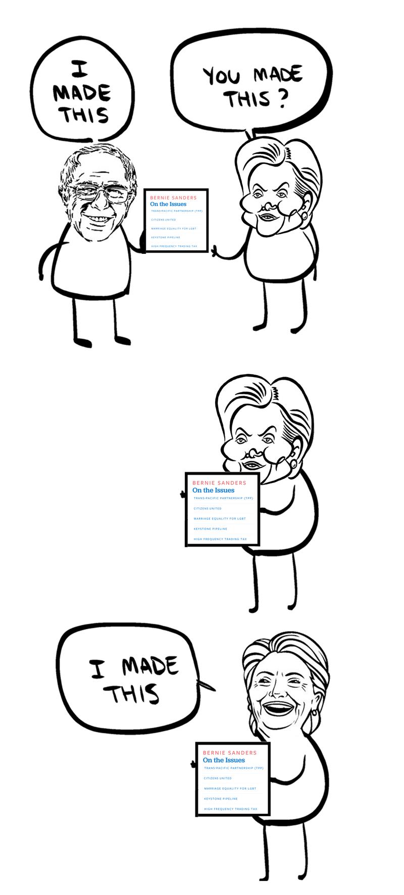 bernie sanders Hillary Clinton Democrat - 8794957312