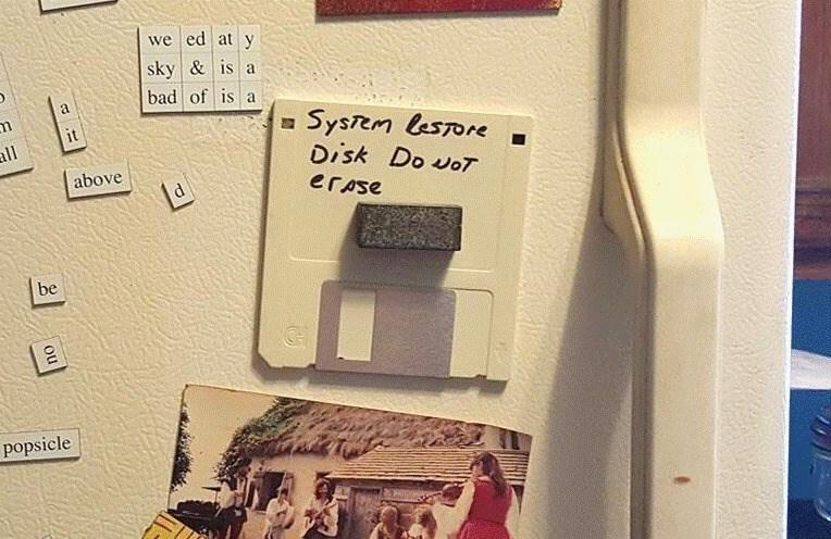 erased FAIL technology floppy disk classic - 8795076352