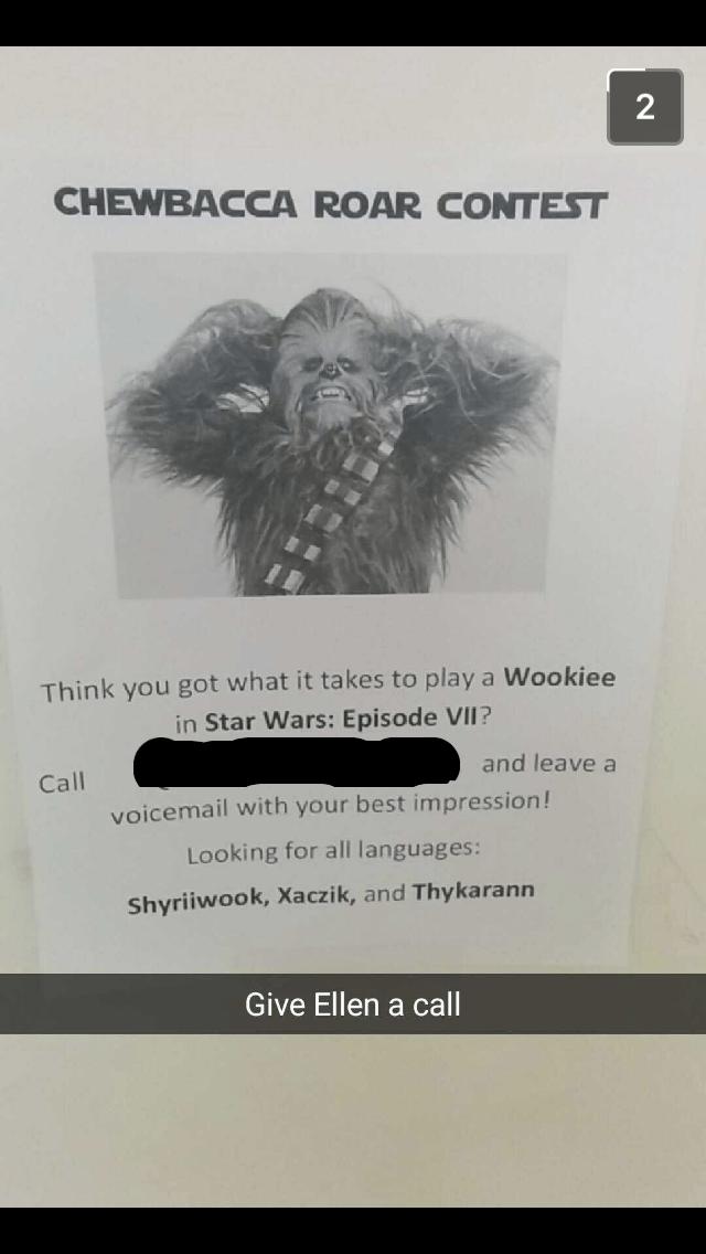 star wars prank image - 8795159552