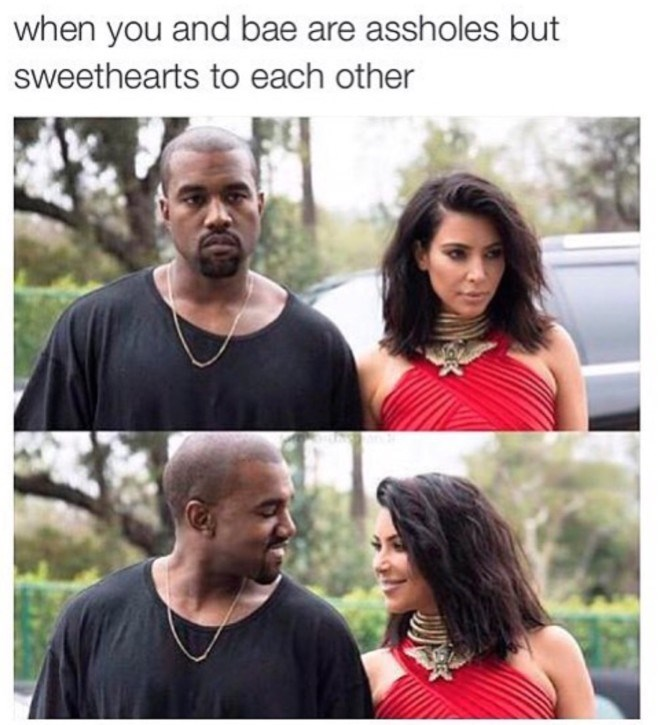 kanye and kim get each other but are assholes