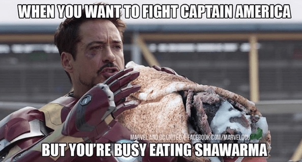 superheroes-marvel-tony-stark-iron-man-shawarma