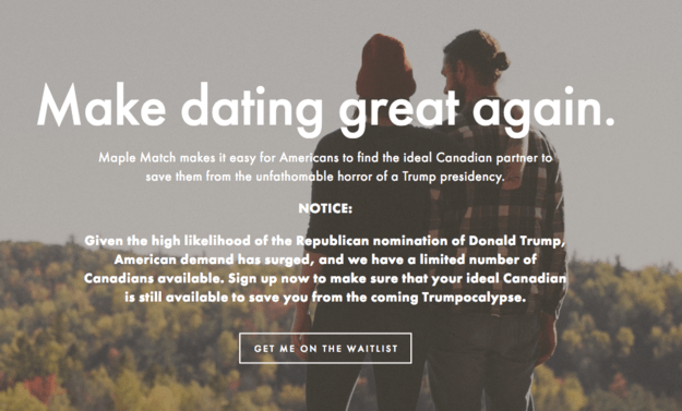 Canada,donald trump,dating