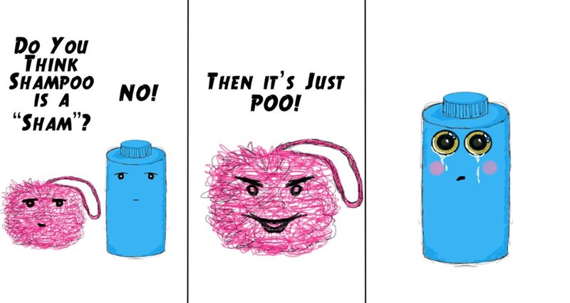 hair shampoo joke funny web comics - 8795312384