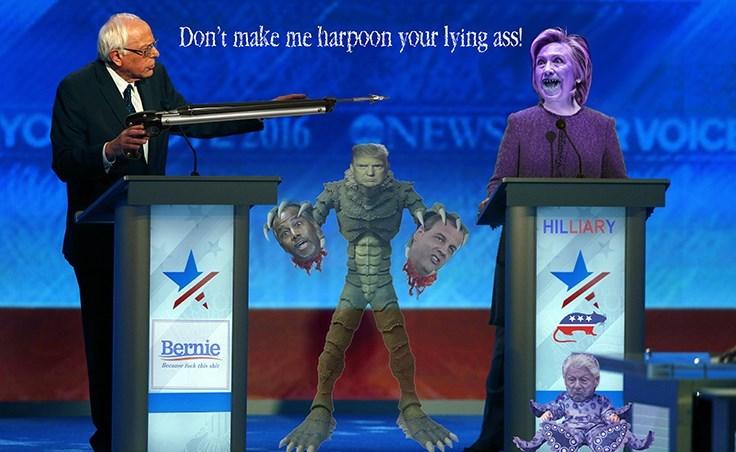 donald trump bernie sanders Hillary Clinton Democrat republican - 8795333120