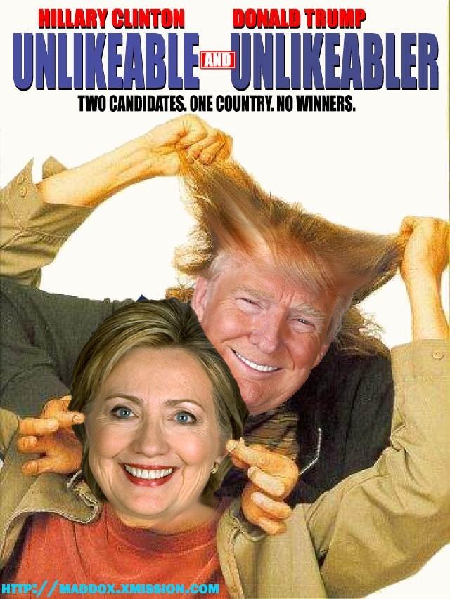 donald trump Hillary Clinton Democrat republican - 8795523584