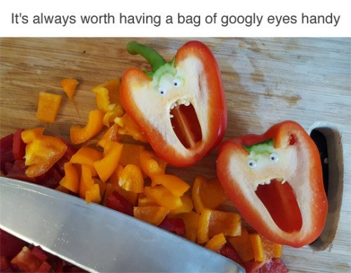 image cooking googly eyes So Useful