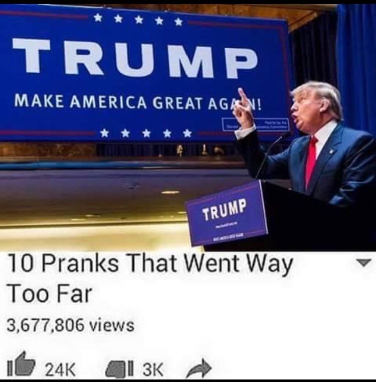 signs donald trump prank image - 8795966208