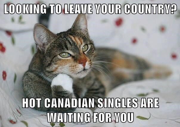 LOOKING TO LEAVE YOUR COUNTRY?  HOT CANADIAN SINGLES ARE WAITING FOR YOU