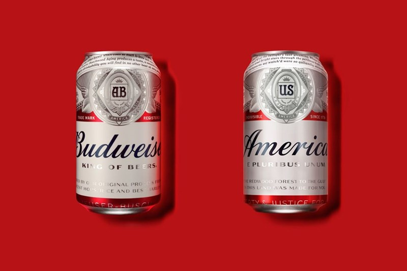 americana beer names Budweiser, the King of Beers, Is Giving up the Monarchy to Become 'America'