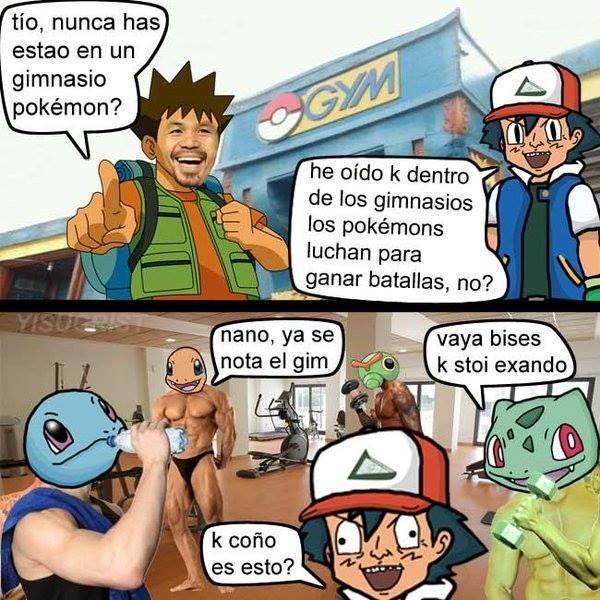 gimnasio pokemon