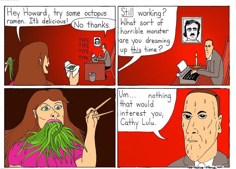 h-p-lovecraft-writing-cthulu-muse-web-comics-funny