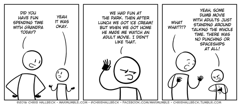 miscommunication adult Grandpa web comics - 8796356096