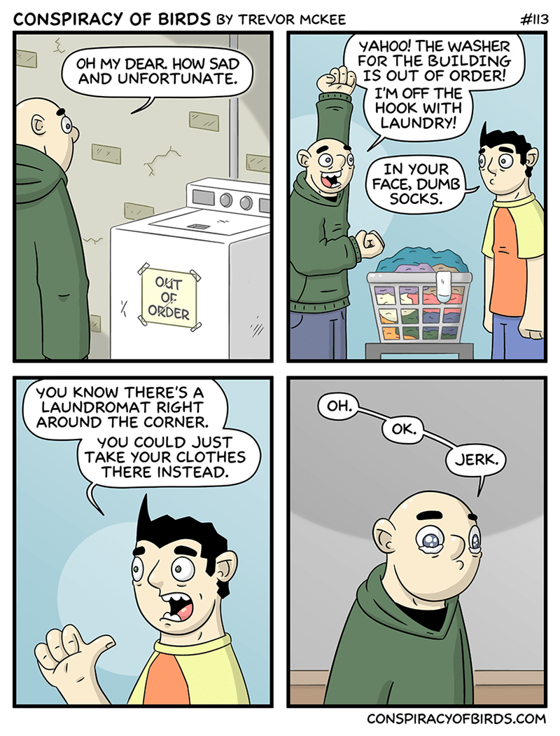 laundry cleaning funny web comics