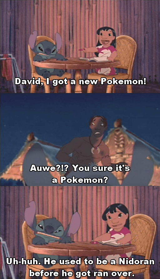 Pokémon lilo and stitch cartoons funny - 8796402432