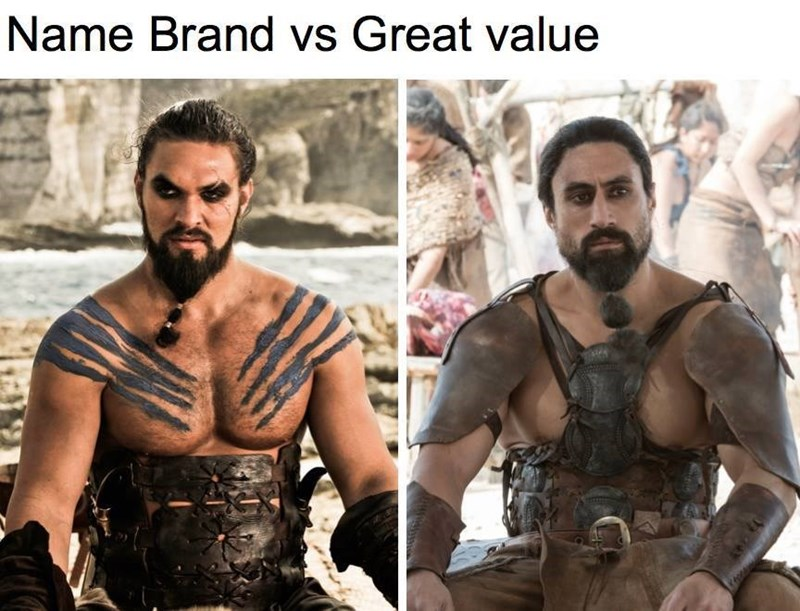image puns game of thrones Welcome to Khal-Mart