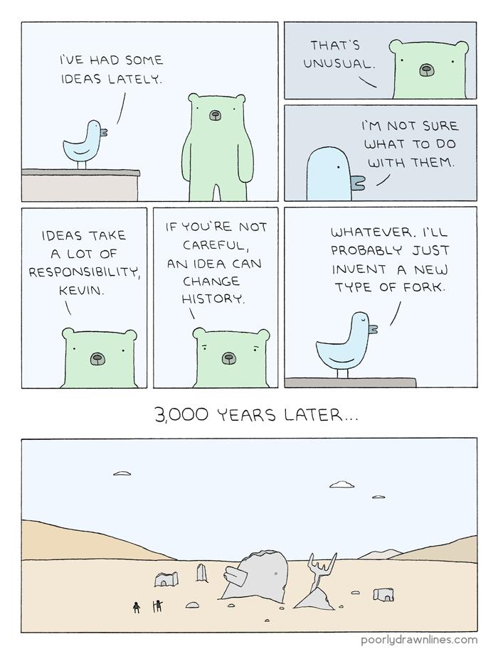 funny-bad-idea-moment-fork-web-comics