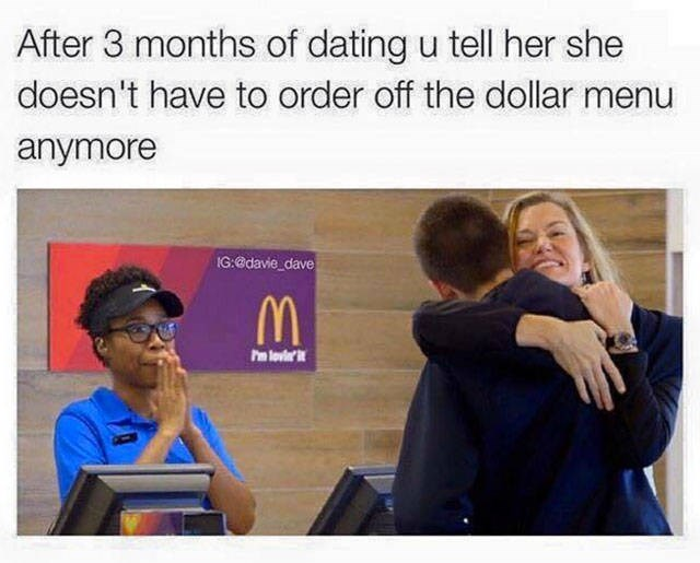 McDonald's,fast food,dating