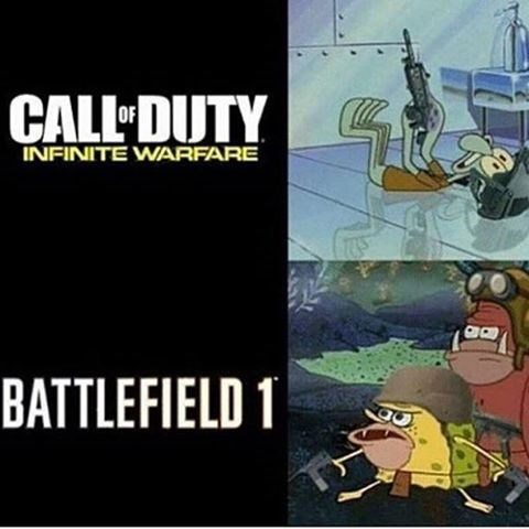 call of duty,SpongeBob SquarePants,cartoons,video games,battlefield,funny