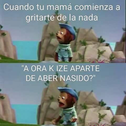 mama gritona