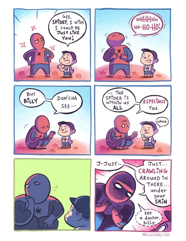 spider-man-gives-little-boy-advice-web-comics-funny