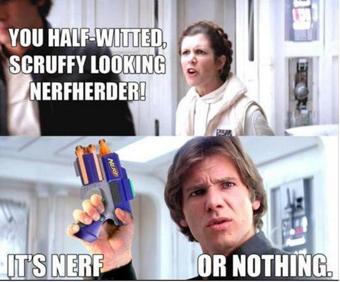 star wars,Nerf,Memes